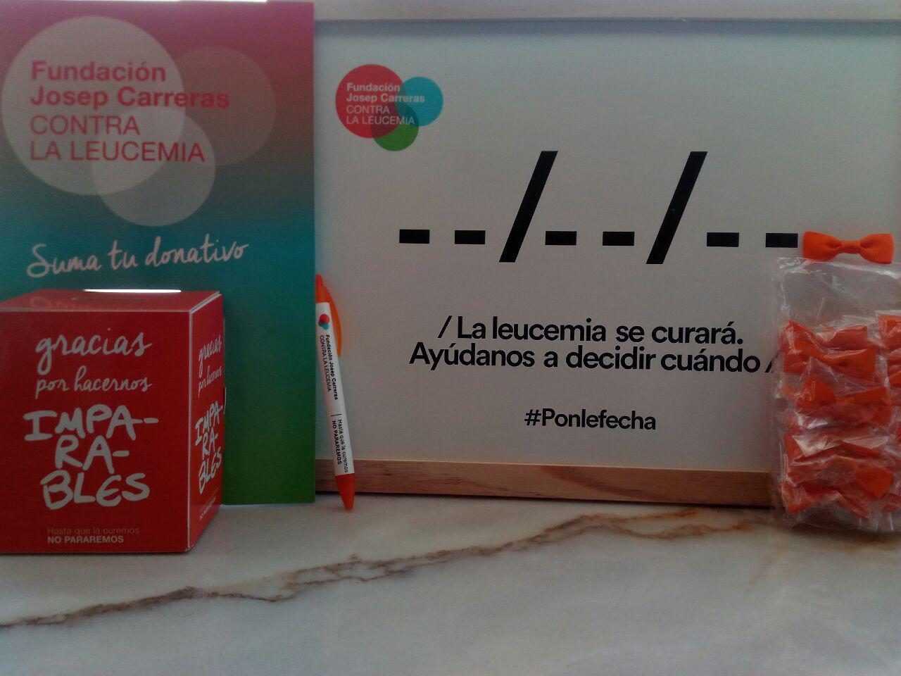 Servicio con la Fundación Josep Carreras